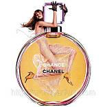 Женская парфюмированная вода Chanel Chance 100 мл ОАЭ (тестер без крышечки) (реплика), фото 5