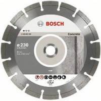 Диск отрезной сегментный Bosch по бетону Professional 180