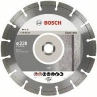 Диск отрезной сегментный Bosch по бетону Professional 230