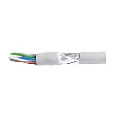 Кабель для интернета витая пара FTP 4х2х0,51 CCA ПВХ серый EH.LAN-22 ElectroHouse