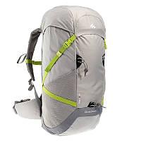 Рюкзак туристический легкий Forclaz Air 40 литров светло-серый