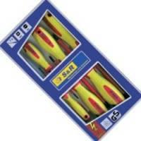 Набор диэлектрических отверток S&R 7 шт с тестером