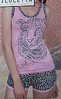 Комплект с шортами женский