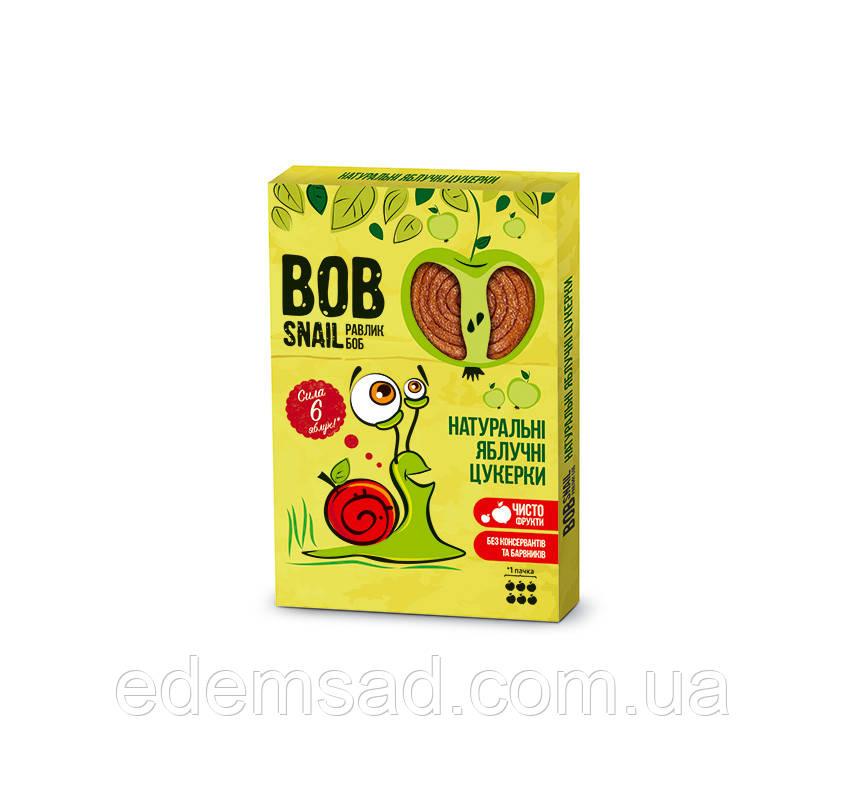 Натуральные конфеты BobSnail с яблоком, 60г