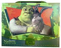 """Пластиковый портфель на замке """"Shrek"""" 490661, фото 1"""