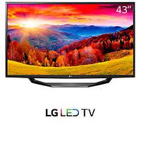 Телевизор LG 43LH5100 (PMI 300Гц, Full HD, Triple XD Engine, Clear Voice, Virtual surround 2.0)