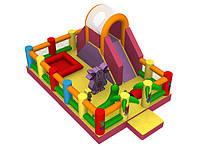 Лунтик. Надувной батутный комплекс для детей заказать.