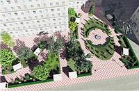 Благоустройство, городской дизайн, уличная мебель