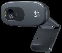 WEB camera Logitech WEBCAM HD C270 (960-000636) 3 млн пикс. разрешение (видео) 1280x720, микрофон вс