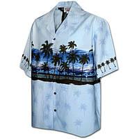 8a16b5ee12d Гавайская рубашка Pacific Legend 440-3511 Blue