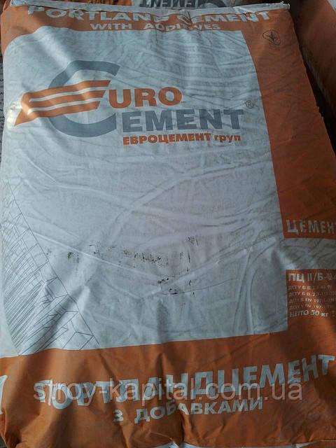 "Цемент ""Евроцемент"" ПЦ II/Б-Ш 400 50кг"