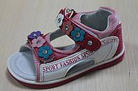 Босоножки на девочку, детская летняя обувь, серия ортопедия тм Tom.m р.23,24