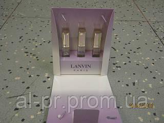 Подарочный женский набор Lanvin 3 по 15 мл