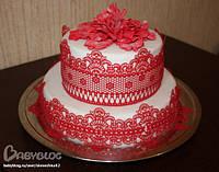 Кружево для декорации тортов
