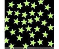 Светящиеся в темноте наклейки звезды на стену,  потолок (080)
