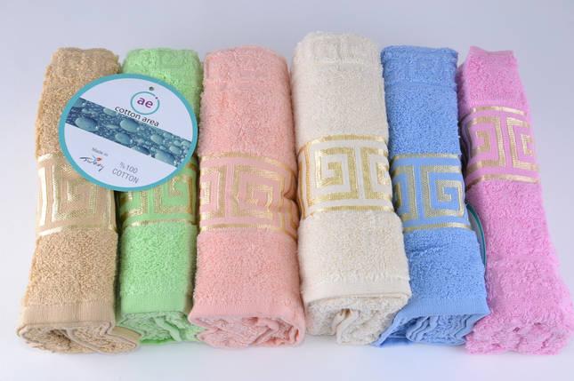 Махровое полотенце для лица (ML16) | 6 шт., фото 2