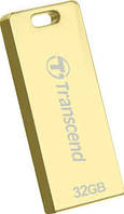 Флеш накопитель USB 2.0 Transcend JetFlash T3G 32Gb Gold (TS32GJFT3G)