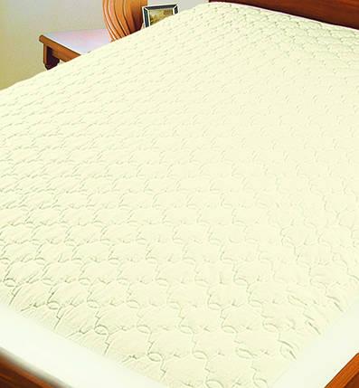 Протектор для матраса (микрофибра) ТМ Ярослав, 90х200х20 см, кремовый, фото 2