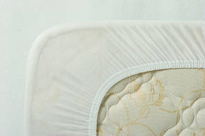 Протектор для матраса (синтепон/бязь) ТМ Ярослав, 90х200х20 см, белый, фото 2