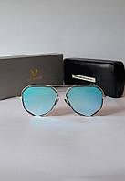 Женские солнцезащитные очки Gentlemonster бирюзовые