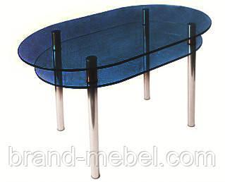 Стол стеклянный КС-6 тонированный