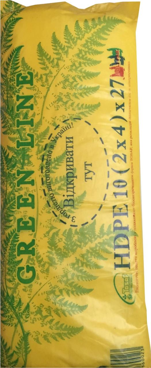 Пакеты фасовочные 10(4)х27 Green Line (плотный) 1/30