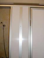 Душевые перегородки с дверьми