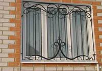 Кованые решетки на окна, декоративные решетки