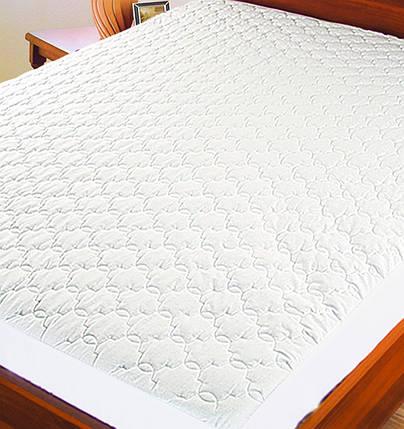 Протектор для матраса (синтепон/бязь) ТМ Ярослав, 140х200х20 см, белый, фото 2