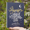 Sketchbook Angel Скетчбук Ангел синие листы 80г