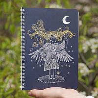 Sketchbook Angel Скетчбук Ангел синие листы 80г, фото 1