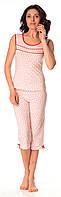 Жіночий домашній костюм / піжама  (майка і бриджі) 0107/108
