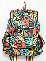 Рюкзак листья багряно-зеленый, фото 1