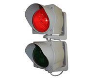 Светофор-лампа для управления транспортными потоками (поставляется только в комплекте с шлагбаумом).