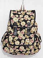 Рюкзак часы черный с желтым, фото 1