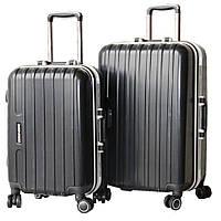 Современный пластиковый чемодан 510501