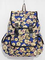 Рюкзак часы синий с желтым, фото 1