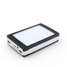 Портативний зарядний пристрій Solar Power Bank + 20 Led Light 20000 mAh