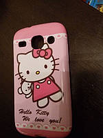 Чехол TPU для Samsung Galaxy SM-G350 Hello Kitty
