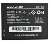 Аккумулятор для телефона Lenovo BL192 - A300, A328, A388T, A526, A529, A560, A590, A680, A750 Li-ion 3.7V 2000