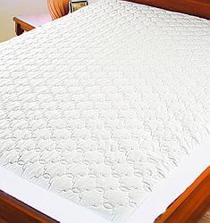 Протектор для матраса (микрофибра) ТМ Ярослав, 180х200х20 см, белый