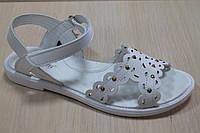Белые босоножки на девочку, летняя детская обувь тм Тom.m р.31,32,33,34,35,36