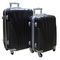 Эксклюзивный пластиковый чемодан двойка, 510411