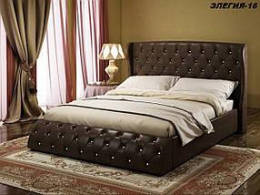 Кровать Дизайнерская Под Заказ Элегия-16 (Мебель-Плюс TM)