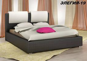 Кровать Дизайнерская Под Заказ Элегия-19 (Мебель-Плюс TM)