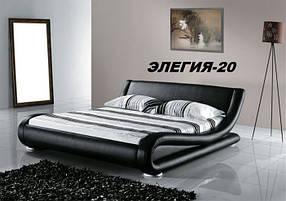 Кровать Элегия-20 без механизма (Мебель-Плюс TM)