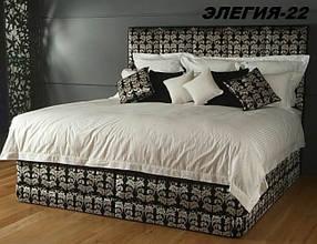 Кровать Дизайнерская Под Заказ Элегия-22 (Мебель-Плюс TM)
