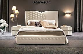 Кровать Дизайнерская Под Заказ Элегия-24 (Мебель-Плюс TM)