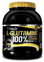 Глютамин  BioTech USA 100% L-GLUTAMINE  500 g