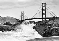 Фотообои на стену Золотые ворота в Сан-Франциско размер 366 х 254 см
